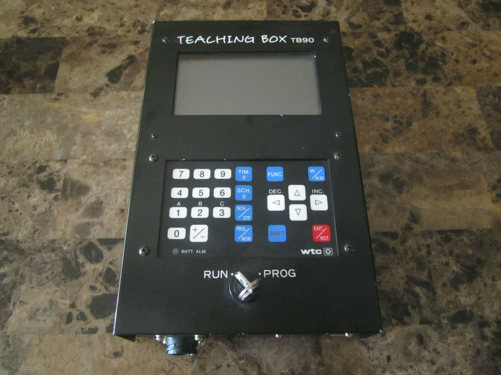 WELTRONIC TEACHING BOX TB90 P02A PROGRAM NO S79 V1.7 WTC
