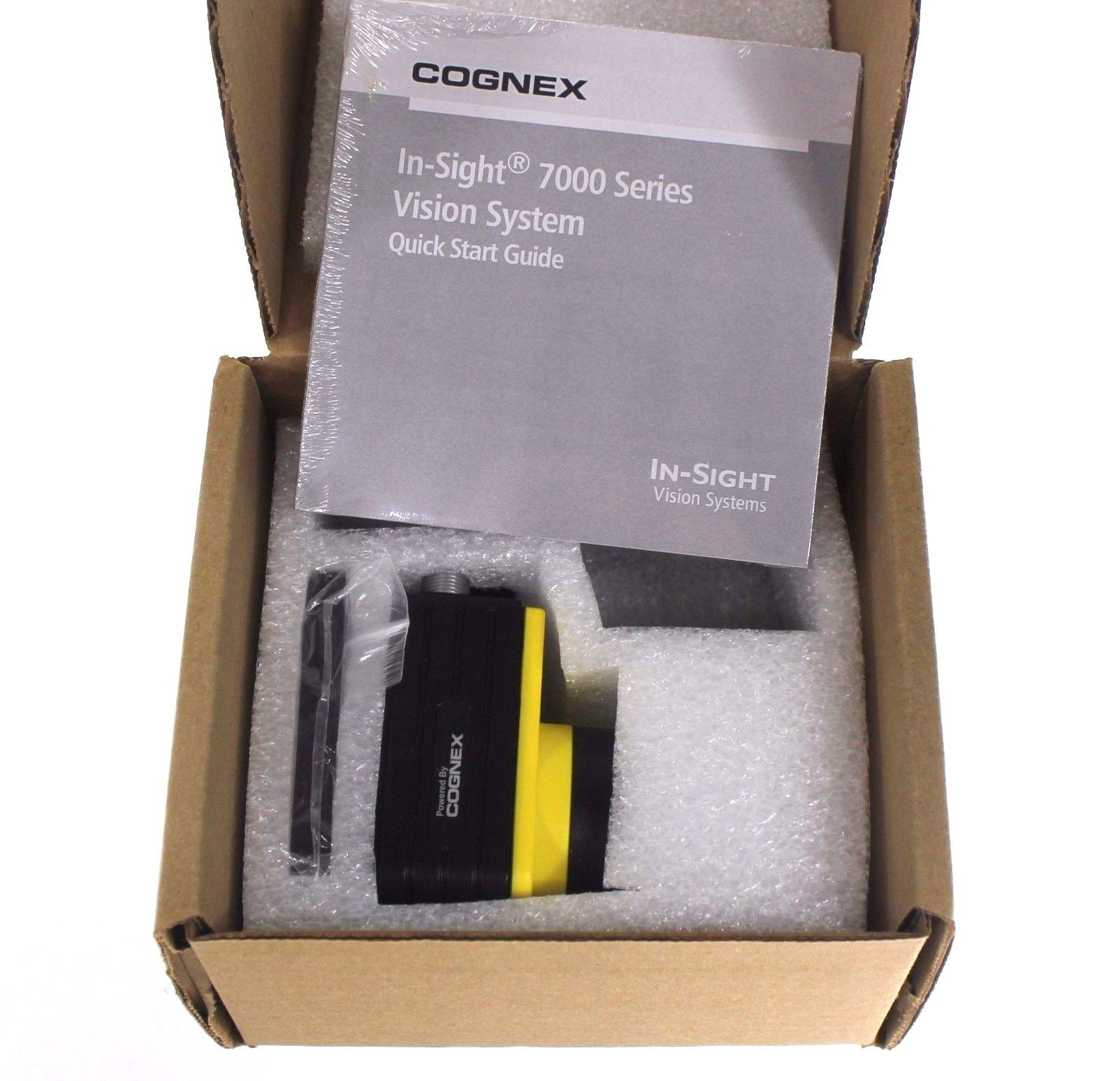 New 2015 Date Cognex In-Sight 7000 IS7200-11 Camera W/ PATMAX 1S7200 IS720011