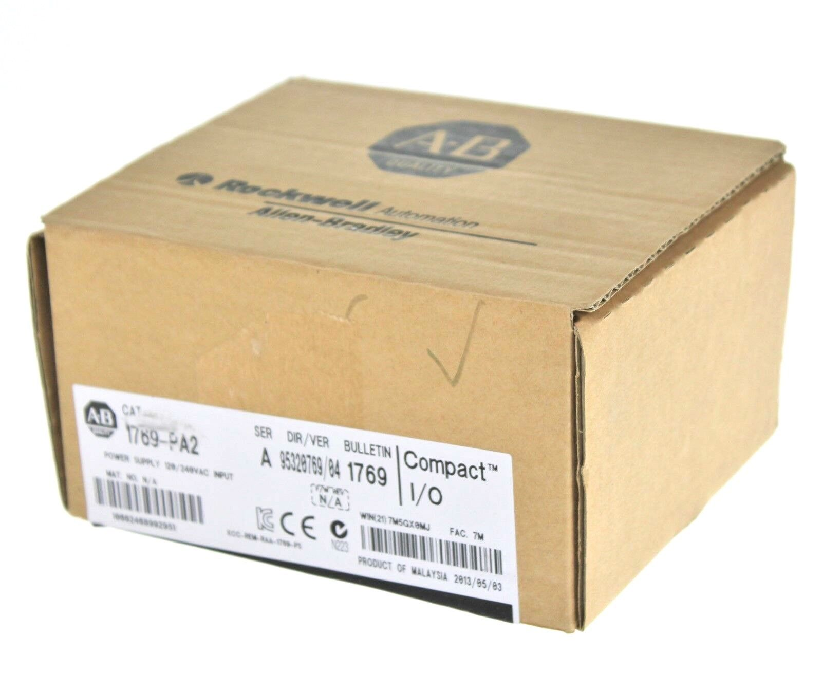 New Allen Bradley 1769-PA2 /A Compact I/O AC Power Supply
