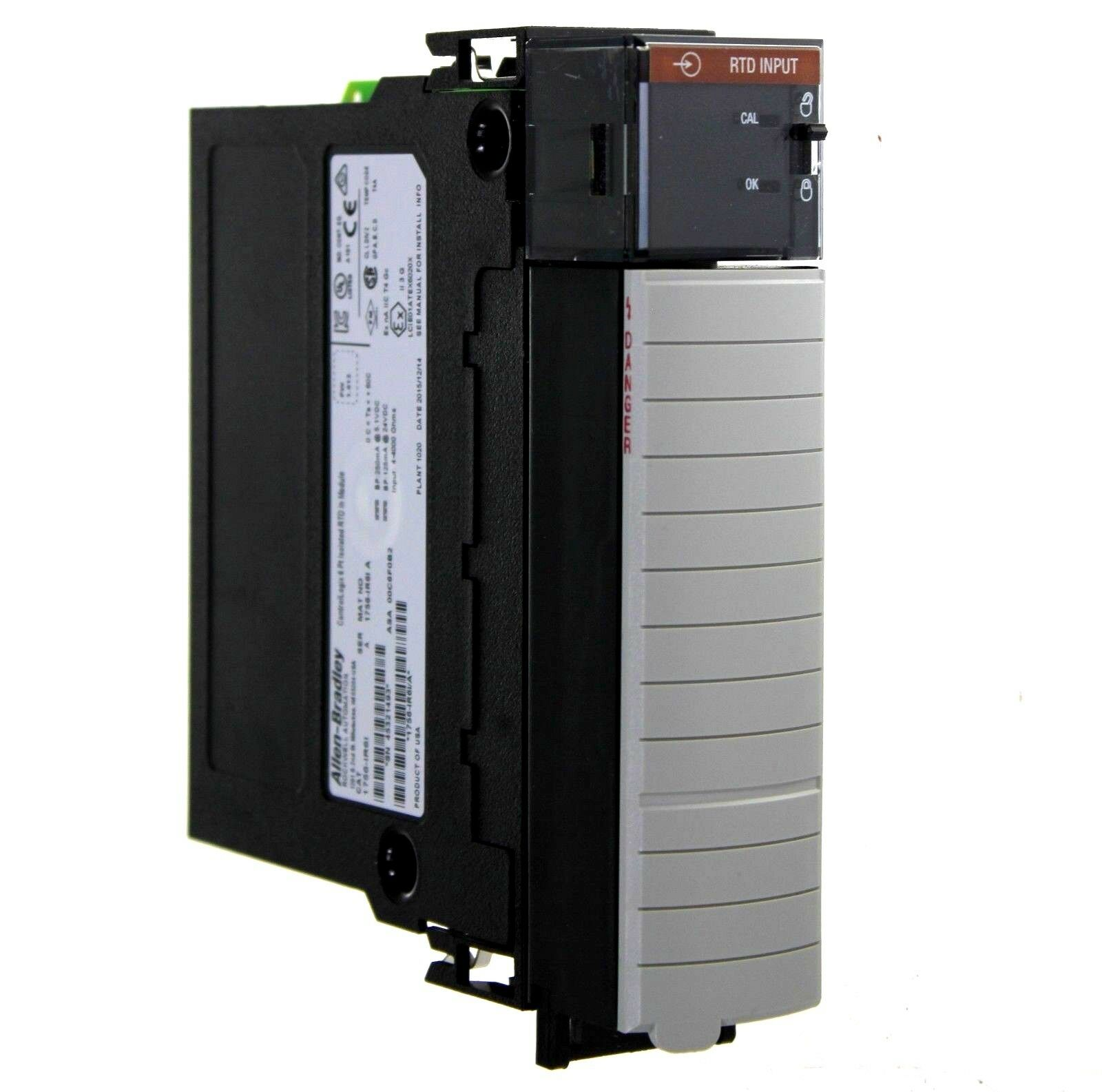 Allen Bradley 1756-IR6I /A ControlLogix 6-Point Isolated RTD Input Module
