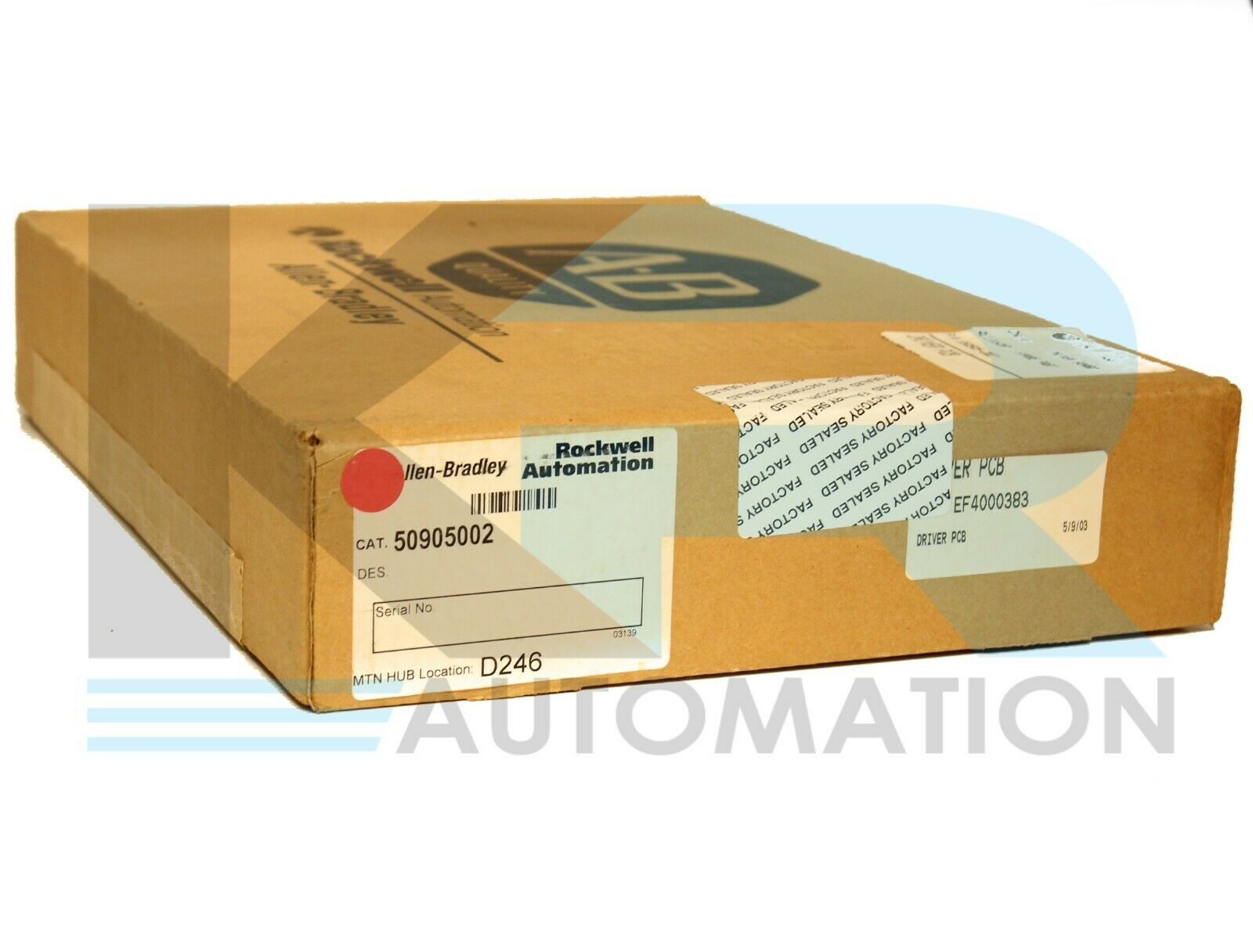 NEW SEALED Allen Bradley S50905-002 Bulletin 1334 Driver Board