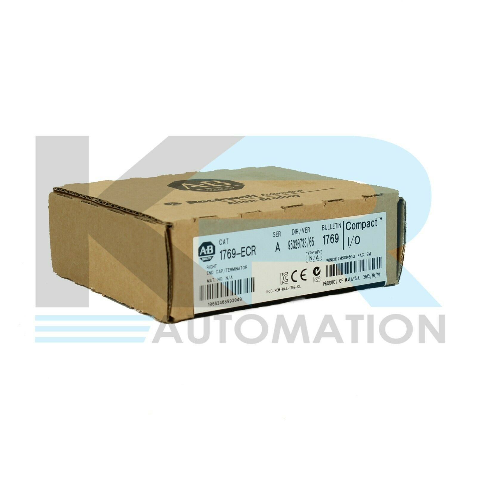 NEW Allen Bradley 1769-ECR /A Compact I/O Right End Cap/ Terminator