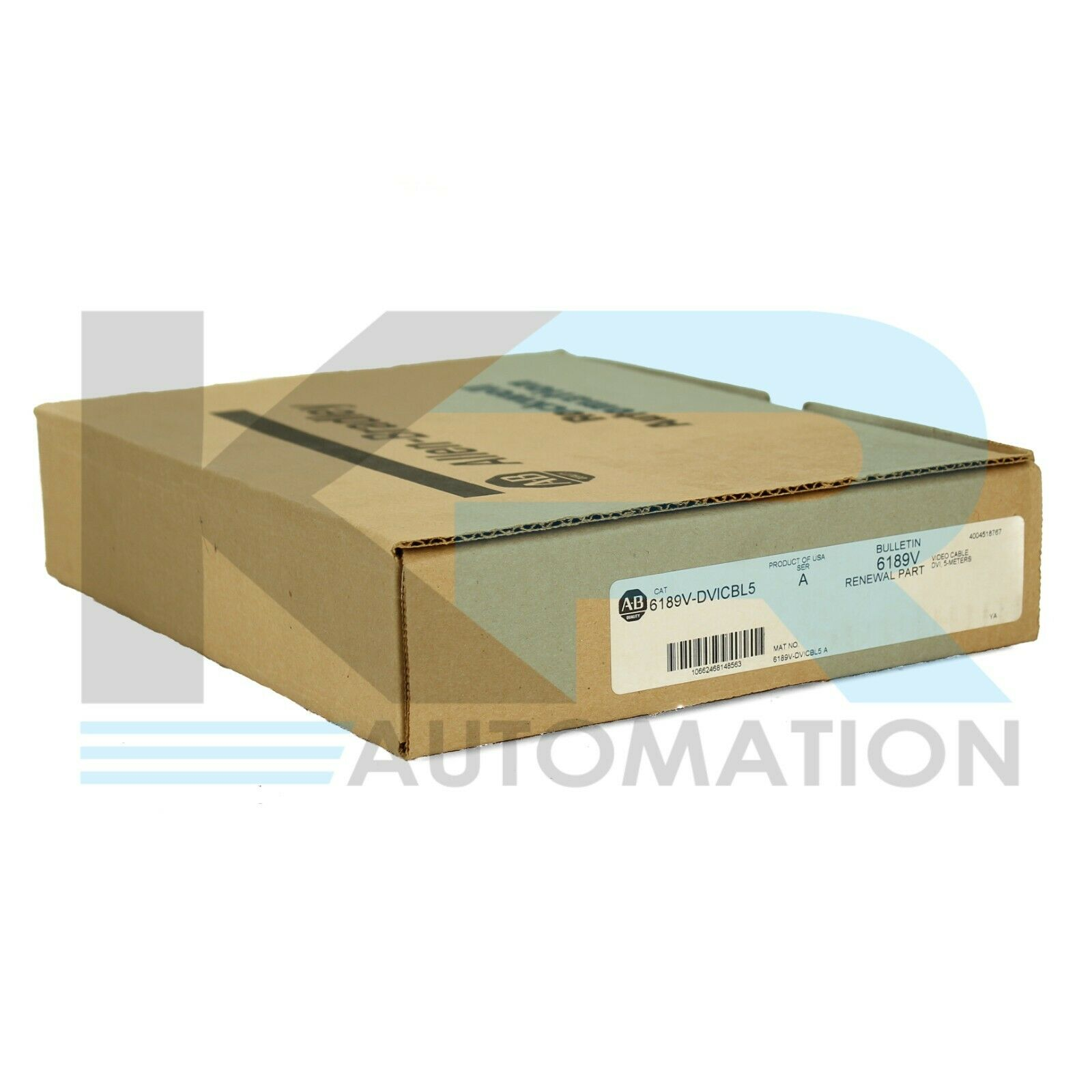 Allen Bradley 6189V-DVICBL5 DVI-D Male to DVI-D Male Link Cable