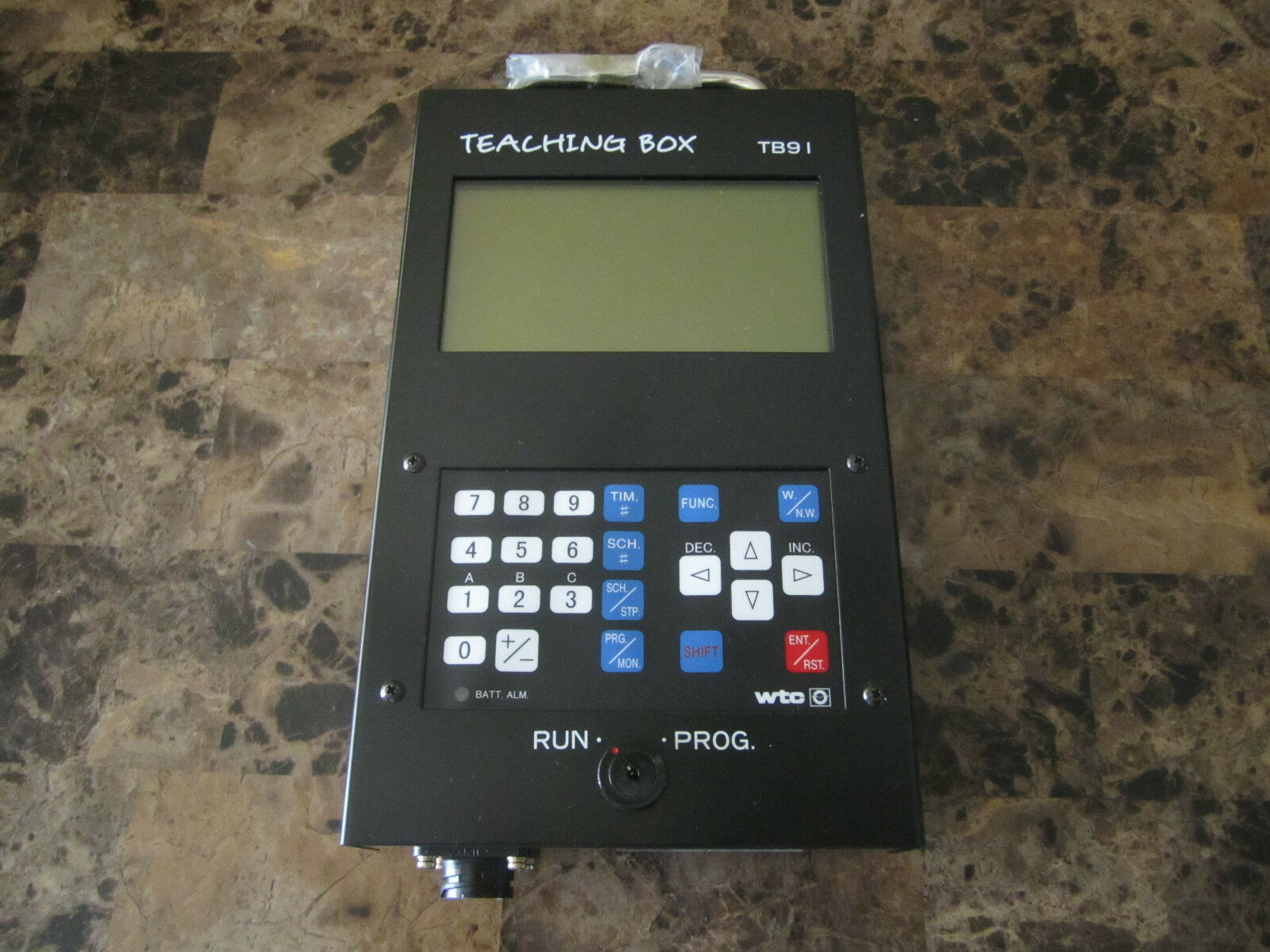 NEW WELTRONIC TEACHING BOX TB91 P01A PROGRAM NO S291 V1.0