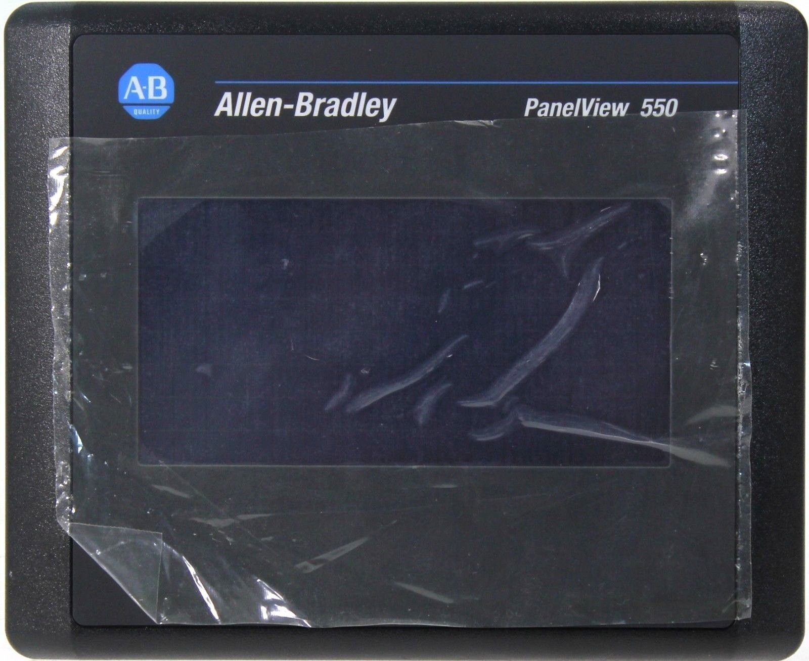 New Allen Bradley PanelView 550 2711-T5A9L1 Series B FW 4.48 24VDC RS232 Printer