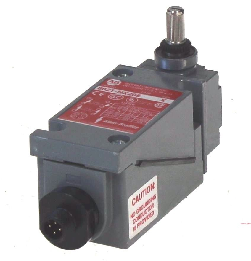 New Allen Bradley 802T-NX205 Series X Oiltight Limit Switch Lever Type