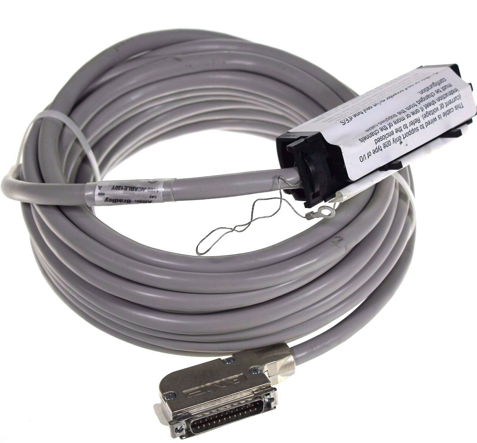 New Allen Bradley 1492-ACABLE120Y Series A ControlLogix Analog Cable
