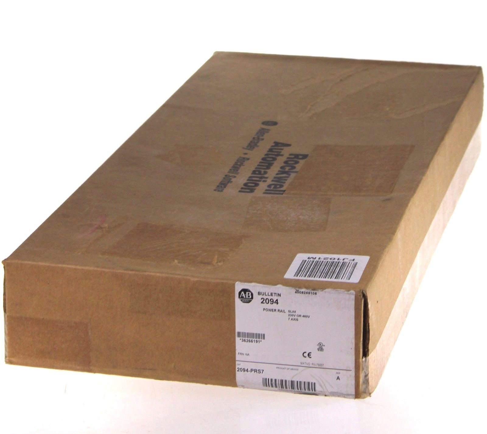 New Sealed Allen Bradley 2094-PRS7 /A Slim 7 Axis Power Rail 230V Or 460V