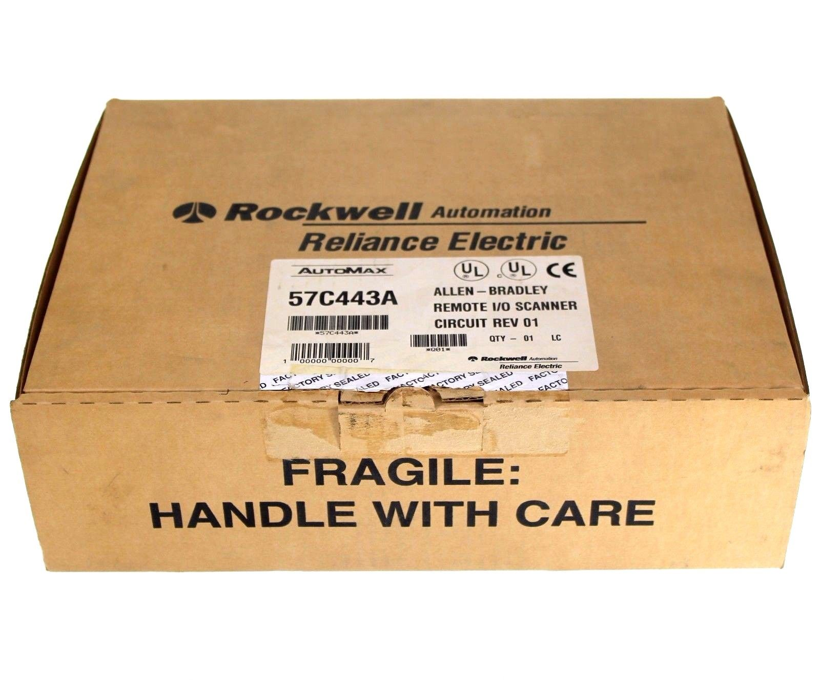 NEW Allen Bradley Reliance Electric 57C443A Automax Remote I/O Scanner