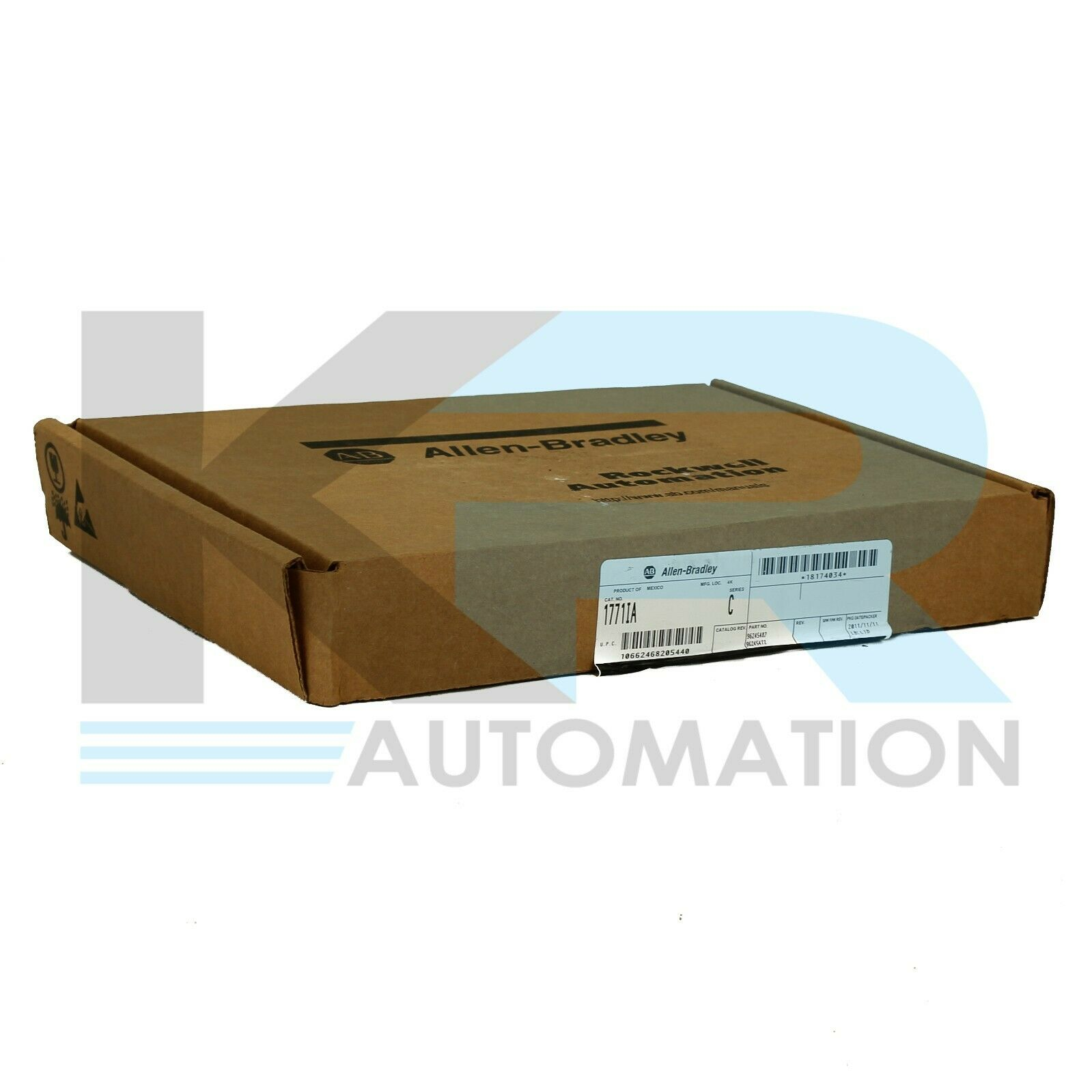 New Factor Sealed Allen Bradley 1771-IA /C PLC-5 Input Module