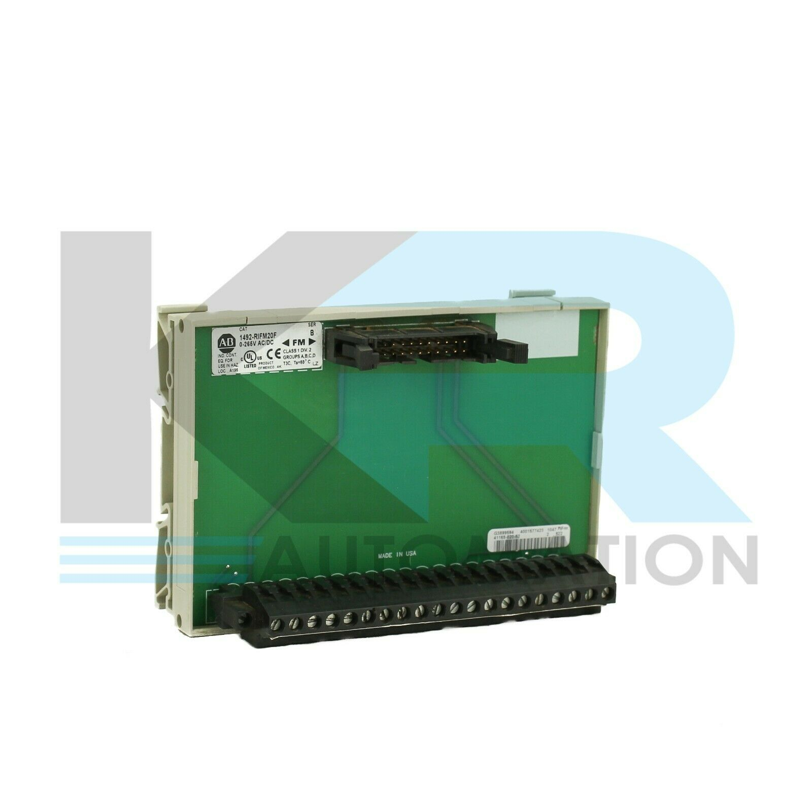 Allen Bradley 1492-RIFM20F /B  Fusible Interface Module
