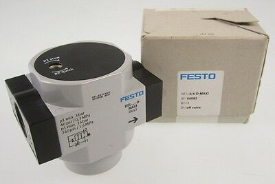 NEW FESTO ON/OFF VALVE HEL 3/4 D MAXI 00165082 B941