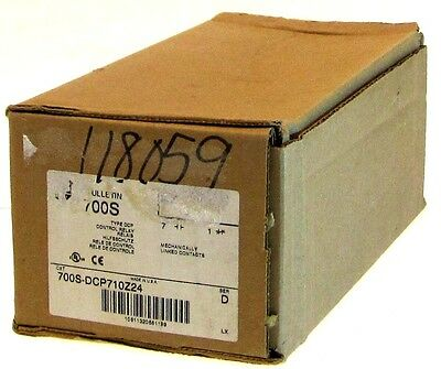 NEW IN BOX ALLEN BRADLEY 700S DCP710Z24 SER D CONTROL RELAY MECHANICALLY LINKED