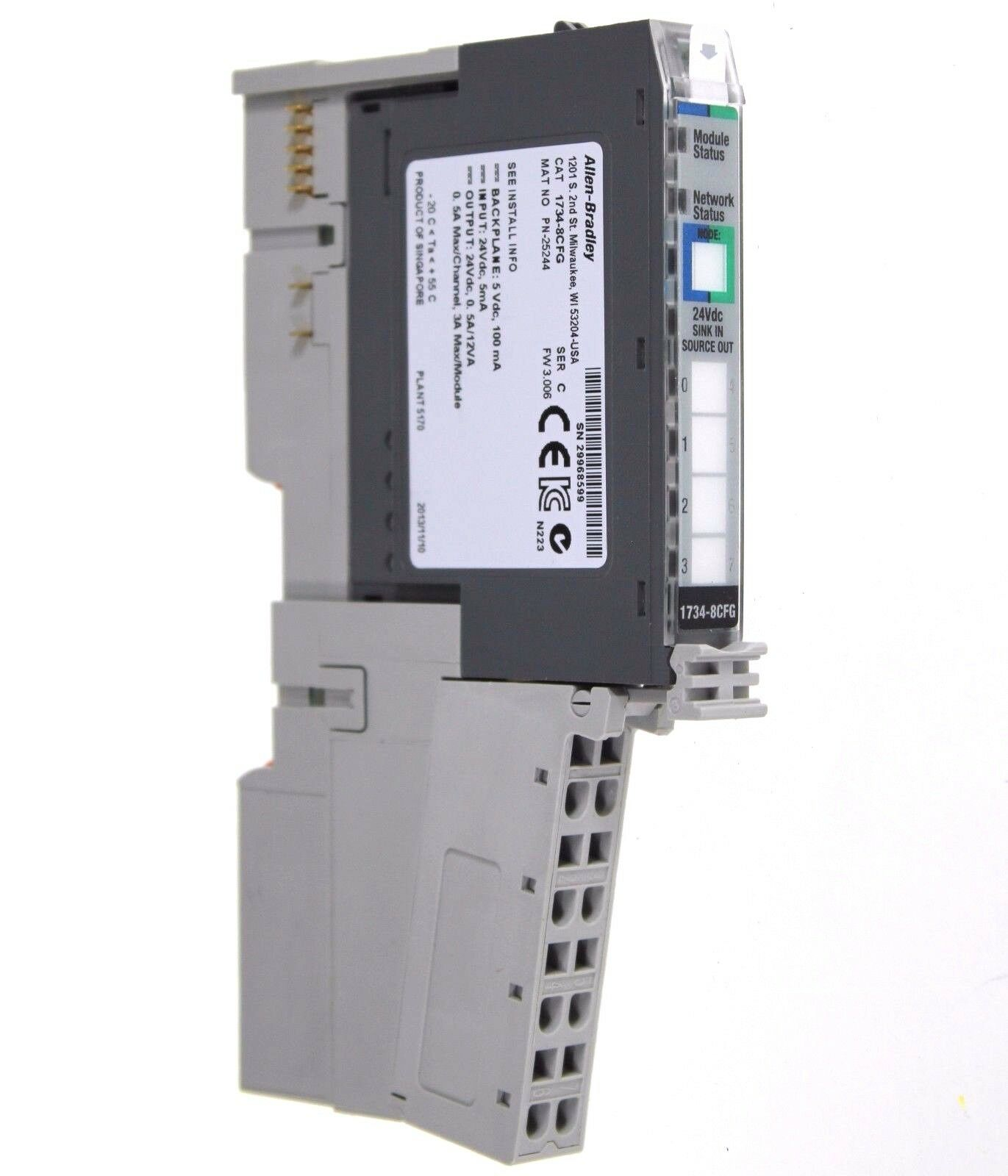 1734-8CFG /C Allen Bradley Point I/O Combination Input Output
