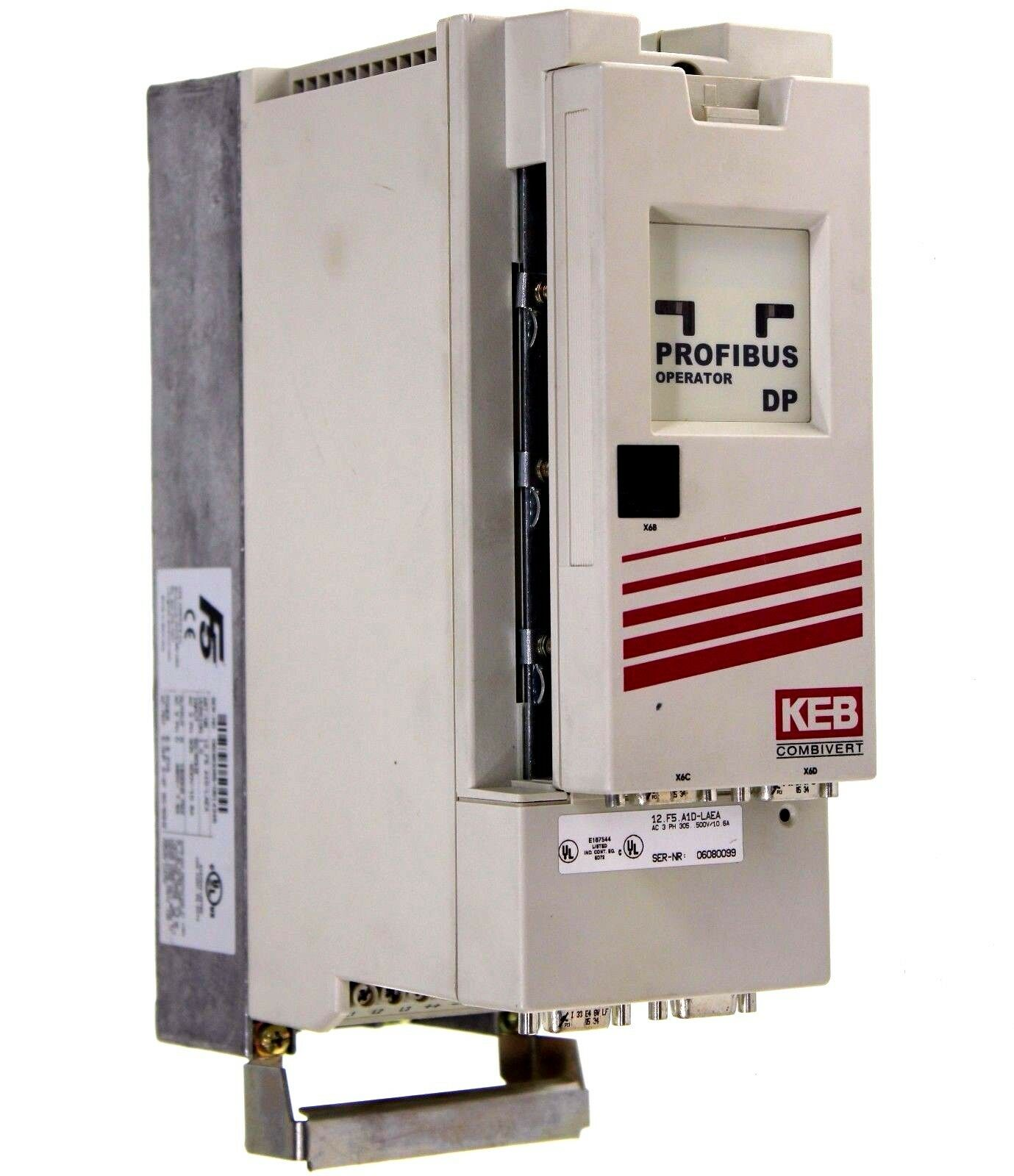 KEB 12.F5.A1D-LAEA Version 1.0 3 Phase 5HP Combivert Drive