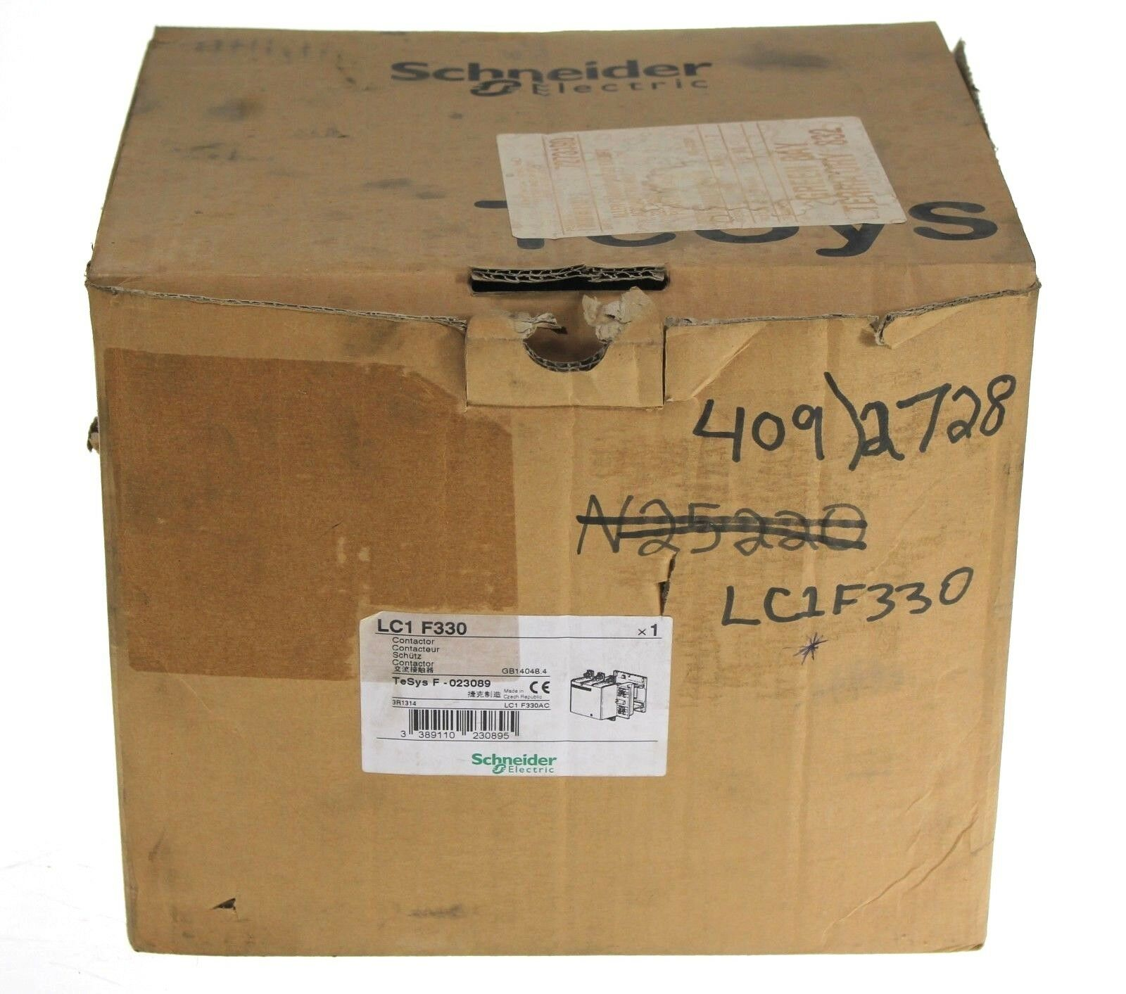 New Schneider Electric Telemecanique LC1 F330 Contactor LC1F330