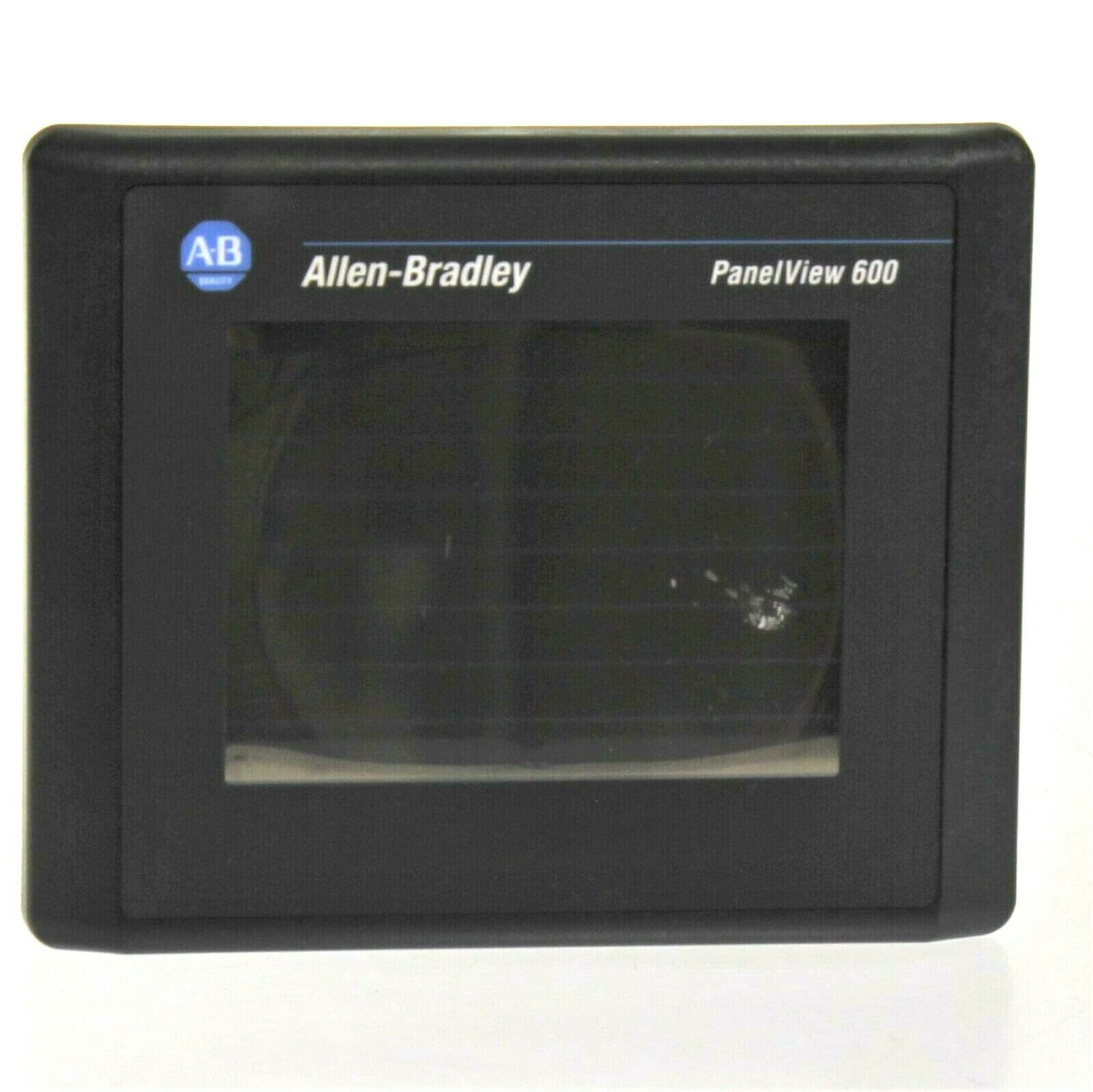 Allen Bradley 2711-T6C1L1 /B PanelView 600 Color Touchscreen F/W 4.30