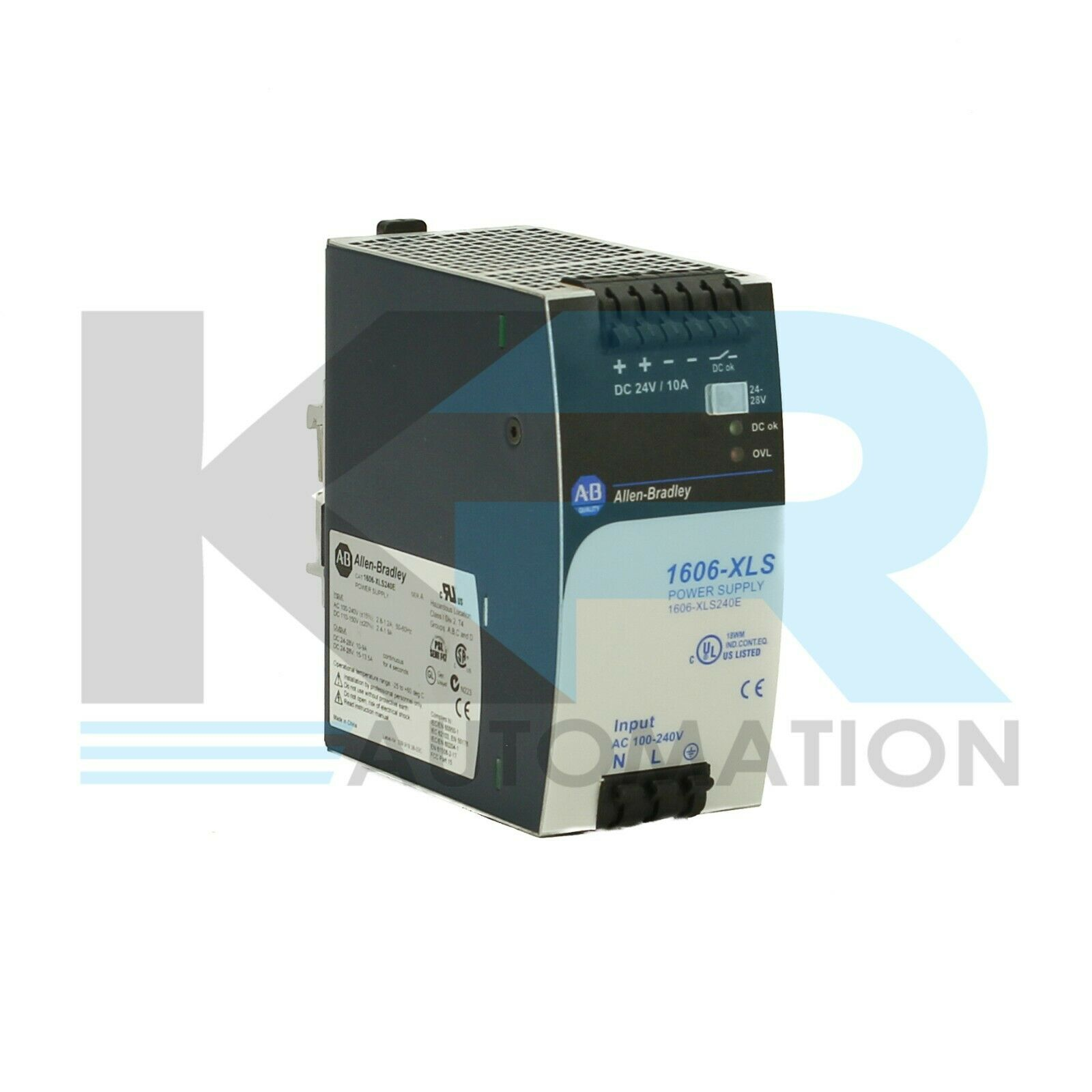 Allen Bradley 1606-XLS240E /A Power Supply 100-240VAC 110-150VDC